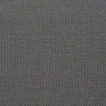 Cotton Plain Border Charcoal