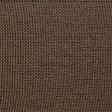 Cotton Plain Border Chocolate