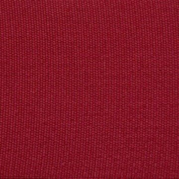 Cotton Plain Border Rouge