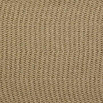 Cotton Herringbone Border Tan