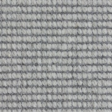 Wool Flatweave Classic Small Boucle Pearl