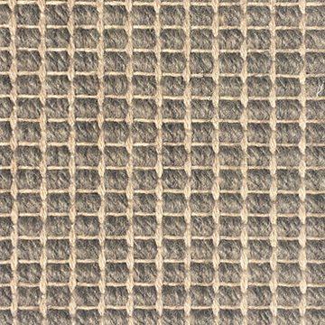 Wool Flatweave Classic Big Boucle Pebble