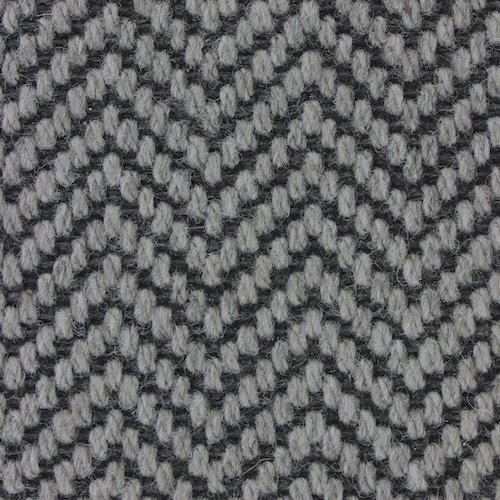 Wool Flatweave Classic Herringbone Witching