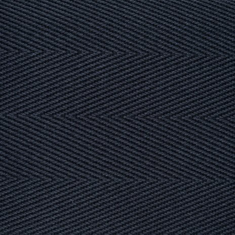 Cotton Herringbone Border Royale
